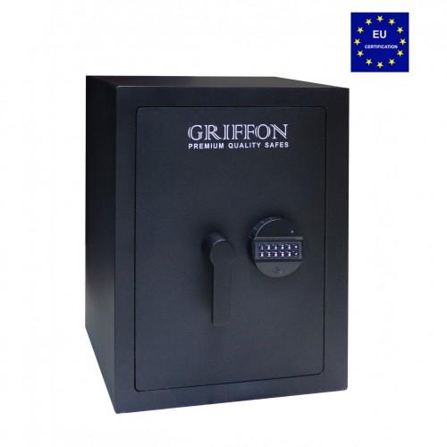 Взломостойкий сейф Griffon CLE I.55.ET BLACK