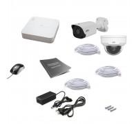 Комплект IP видеонаблюдения Uniview 2MIX 4MEGA