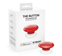 Кнопка управления FIBARO The Button для Apple HomeKit red (красный) - FGBHPB-101-3
