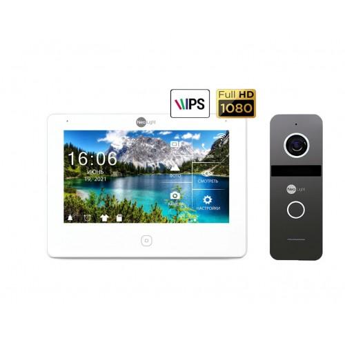 Комплект видеодомофонов Комплект видеодомофона Neolight NeoKIT HD Pro Graphite