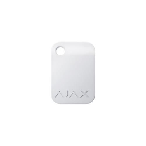 Брелоки Брелок для управления охранной системой Ajax Tag белый 10 шт.