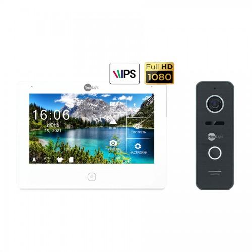 Комплект видеодомофонов Комплект видеодомофона Neolight NeoKIT HD Pro Black