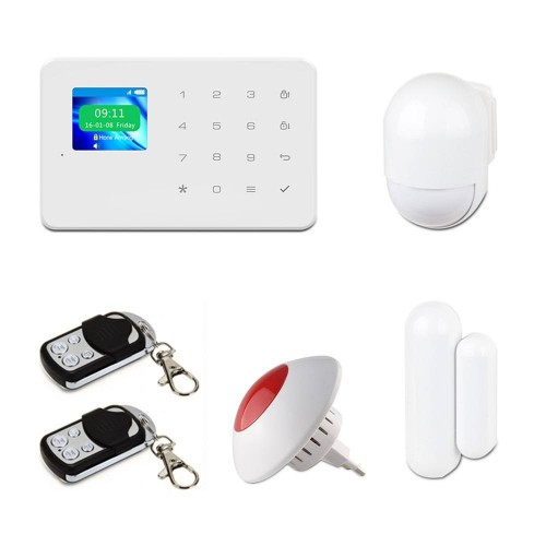 Беспроводные GSM сигнализации Комплект сигнализации Tecsar Alert WARD + беспроводная сирена