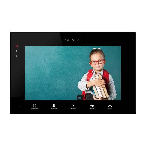 Видеодомофоны цветные Видеодомофон Slinex SQ-07MTHD black
