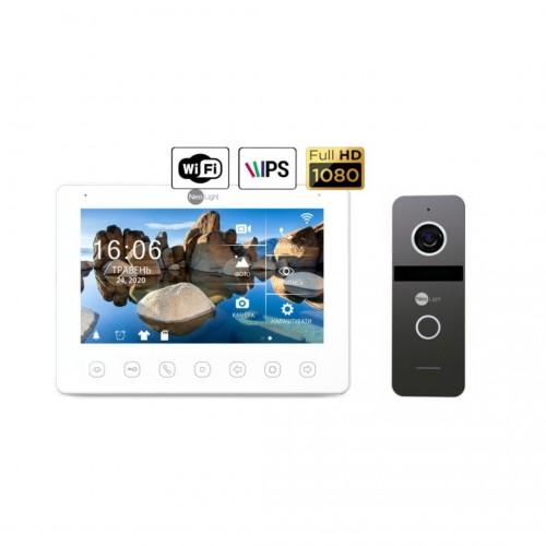 Комплект видеодомофонов Комплект видеодомофона NeoLight NeoKIT HD+ WiFi Graphite