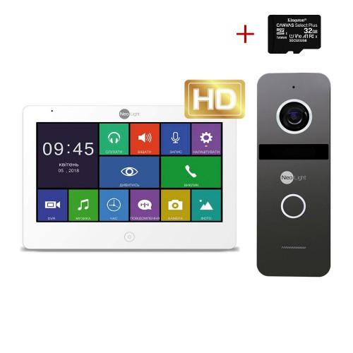 Комплект видеодомофонов Комплект видеодомофона Neolight MEZZO HD / Solo FHD Graphite