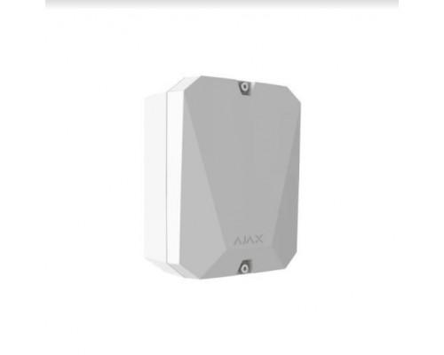 Ajax MultiTransmitter White модуль интеграции сторонних проводных устройств