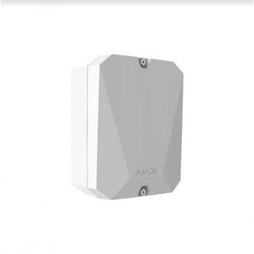 Приемники, усилители, коммуникаторы Ajax MultiTransmitter White модуль интеграции сторонних проводных устройств