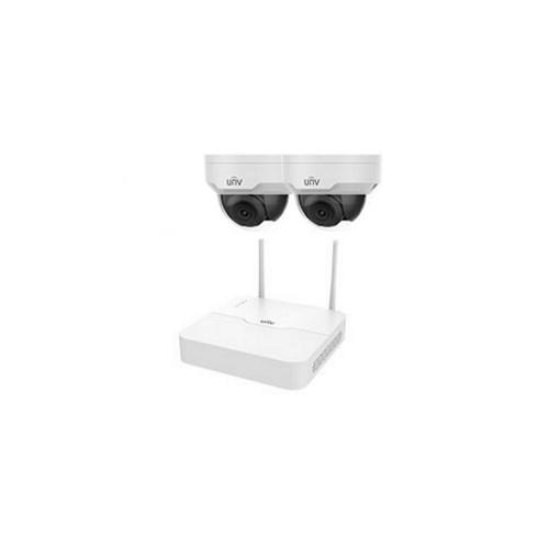Комплекты беспроводного видеонаблюдения Комплект видеонаблюдения IP Uniview KIT/NVR301-04LB-W/2*322SR3-VSF28W-D