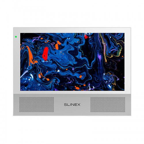Видеодомофоны цветные Видеодомофон Slinex Sonik 10 White
