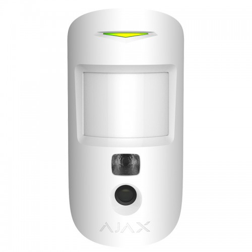 Датчики движения Беспроводной датчик движения Ajax MotionCam белый