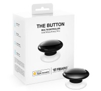 Кнопка управления FIBARO The Button для Apple HomeKit black (черный) - FGBHPB-101-2