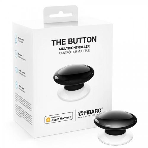 Портативные контроллеры для умного дома Кнопка управления FIBARO The Button для Apple HomeKit black (черный) - FGBHPB-101-2