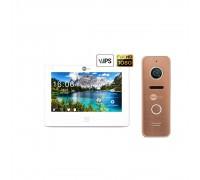Комплект видеодомофона Neolight NeoKIT HD Pro Bronze