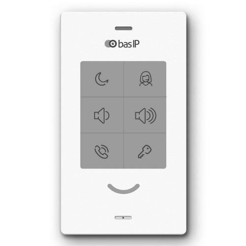Видеодомофоны цветные IP аудио домофон BAS-IP SP-03 white