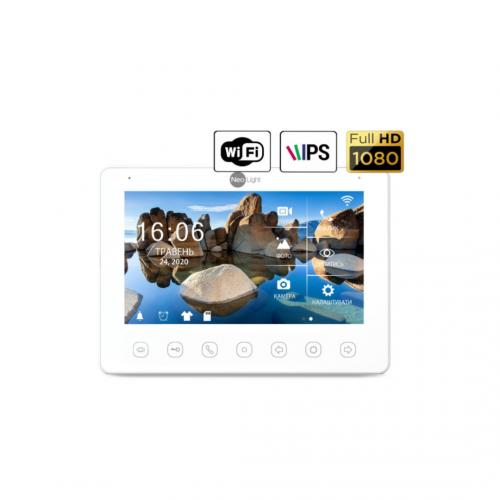 Видеодомофоны цветные Видеодомофон NeoLight Omega + HD WF White