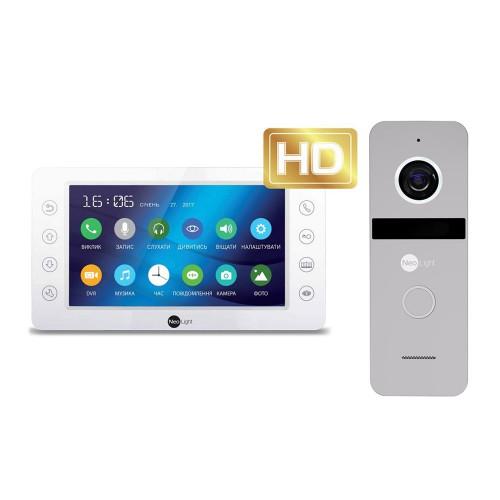 Комплект видеодомофонов Комплект видеодомофона Neolight KAPPA+ HD / Solo FHD Silver