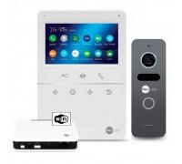 Комплект видеодомофона NeoLight Tetta+ WiFi Box Graphite