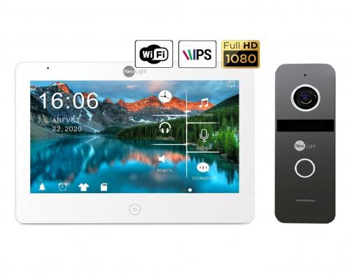 Комплект видеодомофона NeoLight Mezzo HD WiFi  / Solo FHD Graphite