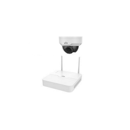 Системы безопасности Комплект видеонаблюдения IP Uniview KIT/NVR301-04LB-W/1*322SR3-VSF28W-D