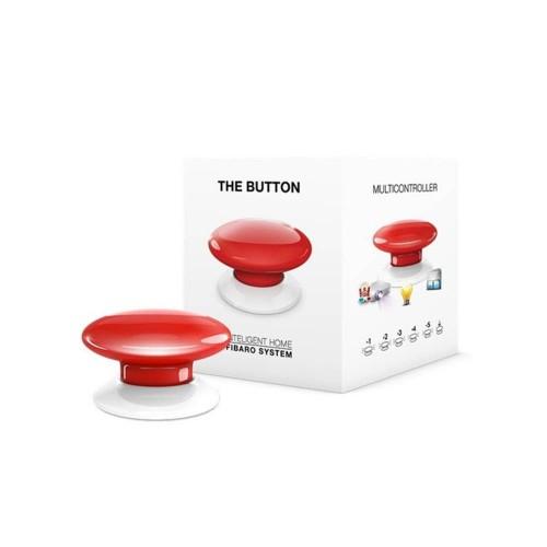Портативные контроллеры для умного дома Кнопка управления Z-Wave Fibaro The Button red - FGPB-101-3