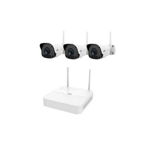 Комплекты беспроводного видеонаблюдения Комплект видеонаблюдения IP Uniview KIT/NVR301-04LB-W/3*2122SR3-F40W-D