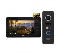 Комплект видеодомофона Neolight NeoKIT HD+ Black/Black