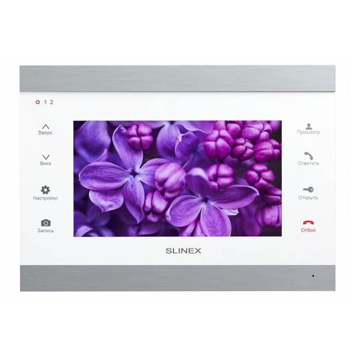 Видеодомофоны цветные Видеодомофон Slinex SL-07IPHD (silver + white)