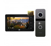 Комплект видеодомофона Neolight NeoKIT HD+ Black/Graphite