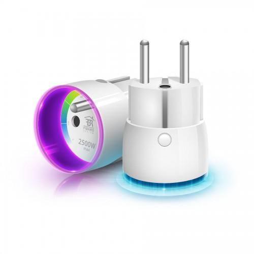 Системы безопасности Розеточный выключатель со счетчиком электроэнергии FIBARO Wall Plug для Apple HomeKit - FGBWHWPE-102