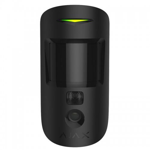 Датчики движения Беспроводной датчик движения Ajax MotionCam черный