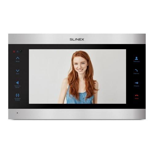 Видеодомофоны цветные IP-видеодомофон Slinex SL-10IPTHD (silver + black)