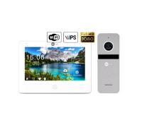 Комплект видеодомофона NeoLight NeoKIT HD Pro WiFi Silver