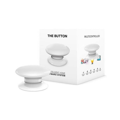 Портативные контроллеры для умного дома Кнопка управления Z-Wave Fibaro The Button white - FGPB-101-1