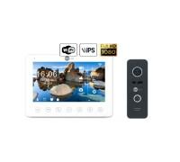 Комплект видеодомофона NeoLight NeoKIT HD+ WiFi Black