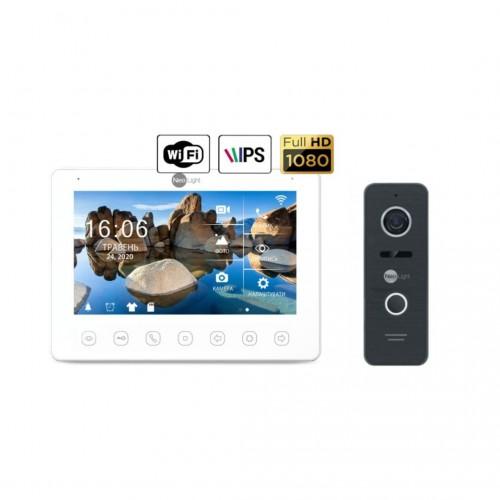 Комплект видеодомофонов Комплект видеодомофона NeoLight NeoKIT HD+ WiFi Black
