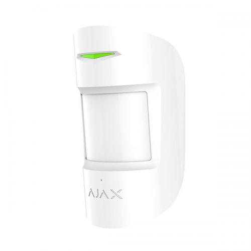 Датчики разбития Беспроводной датчик движения и разбития Ajax CombiProtect белый