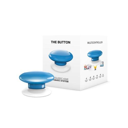 Портативные контроллеры для умного дома Кнопка управления Z-Wave Fibaro The Button blue - FGPB-101-6