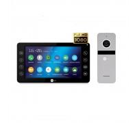 Комплект видеодомофона Neolight Kappa+ HD Black / Solo FHD Silver