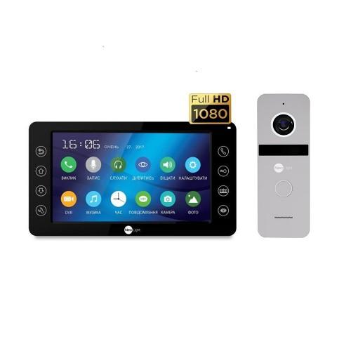 Комплект видеодомофонов Комплект видеодомофона Neolight Kappa+ HD Black / Solo FHD Silver