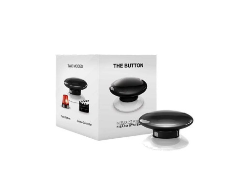 Кнопка управления Z-Wave Fibaro The Button black FGPB-101-2 / FIBEFGPB-101-2
