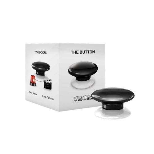 Портативные контроллеры для умного дома Кнопка управления Z-Wave Fibaro The Button black FGPB-101-2 / FIBEFGPB-101-2