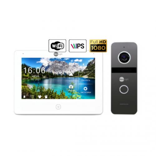 Комплект видеодомофонов Комплект видеодомофона NeoLight NeoKIT HD Pro WiFi Graphite