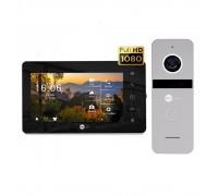 Комплект видеодомофона Neolight NeoKIT HD+ Black/Silver