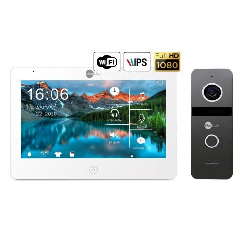 Комплект видеодомофонов Комплект видеодомофона NeoLight Mezzo HD WiFi  / Solo FHD Graphite