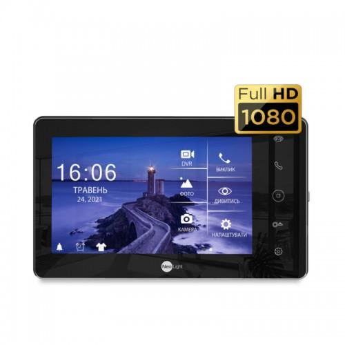 Видеодомофоны цветные Видеодомофон Neolight Sigma+ HD Black