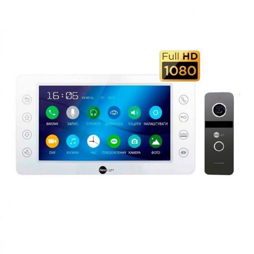 Комплект видеодомофонов Комплект видеодомофона NeoLight KAPPA HD Kit Graphite