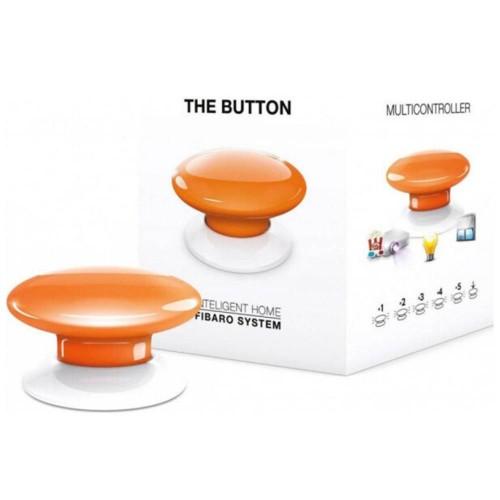 Портативные контроллеры для умного дома Кнопка управления Z-Wave Fibaro The Button orange - FGPB-101-8