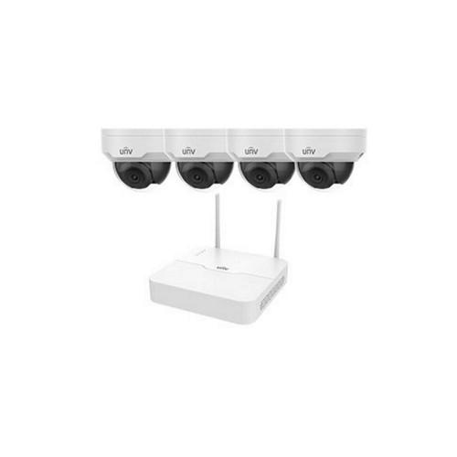 Системы безопасности Комплект видеонаблюдения IP Uniview KIT/NVR301-04LB-W/4*322SR3-VSF28W-D