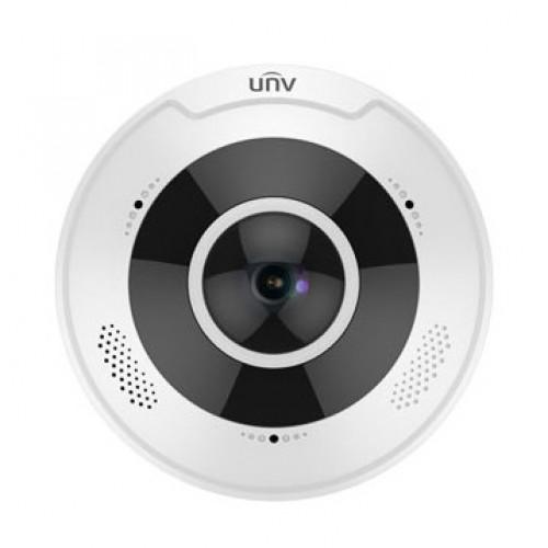 Купольные IP-камеры IP-видеокамера купольная рыбий глаз Uniview IPC868ER-VF18-B